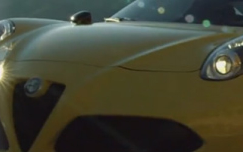 Alfa Romeo 4C Spider : film promotionnel
