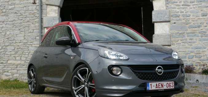 Opel Adam S : photos